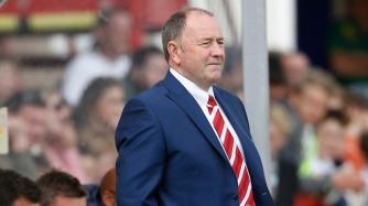 Former Bristol City and Yeovil manager Gary Johnson signs for Cheltenham.