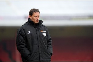 Grimsby manager Paul Hurst hoping for a successful campaign. Image courtesy of Grimsby Telegraph